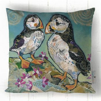 Puffin Pals- Cushion