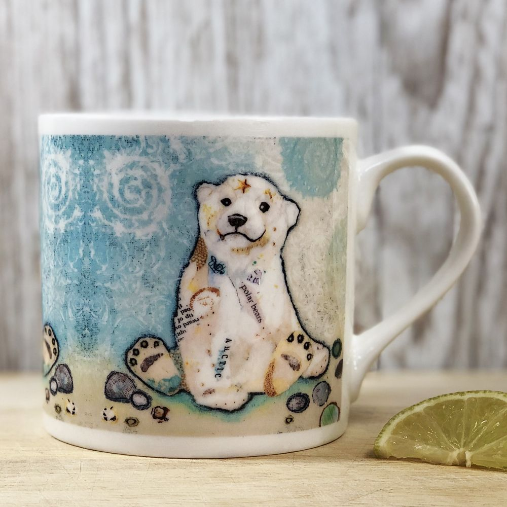 Polar Cub Mug - Fine Bone China