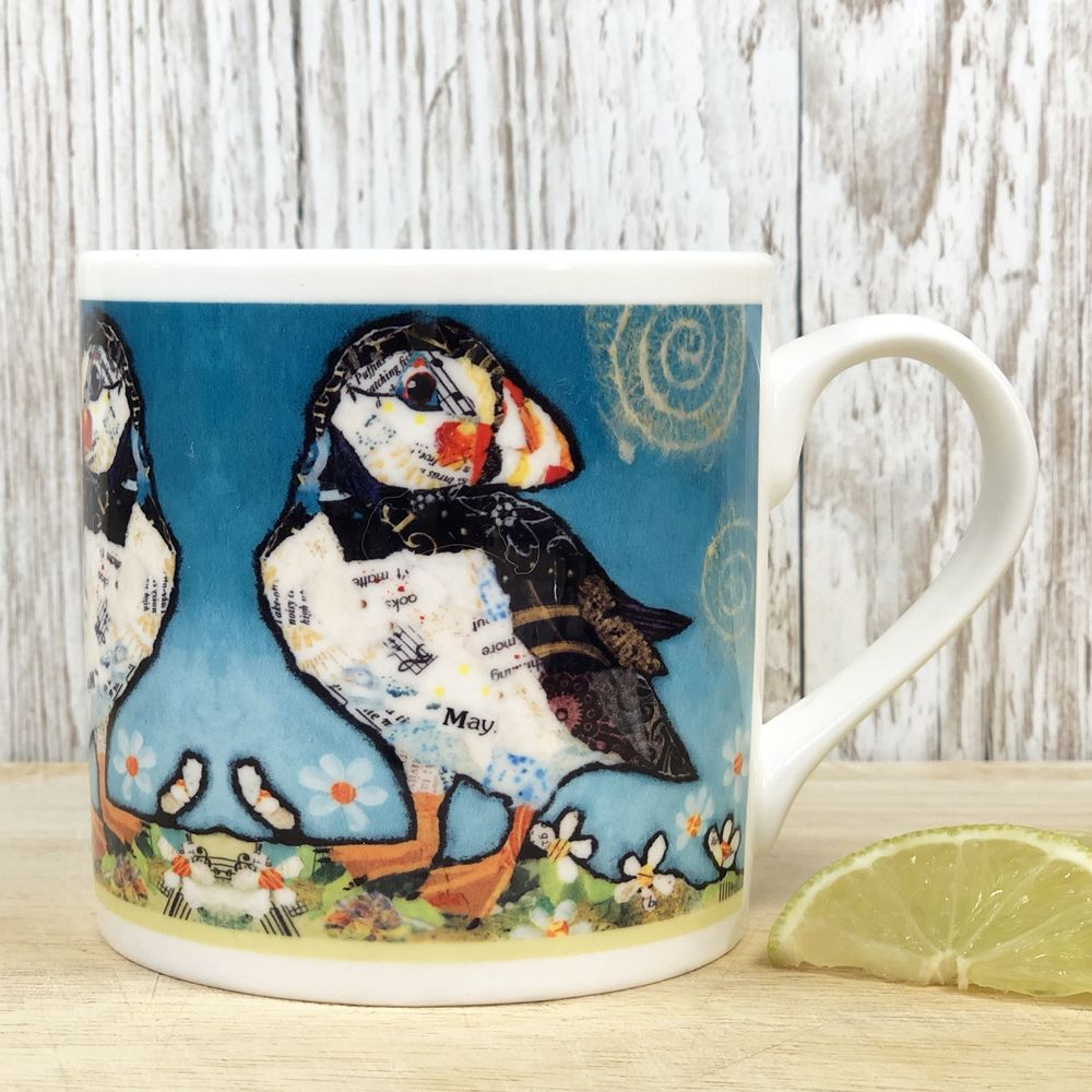 May Puffin Fine Bone China Mug