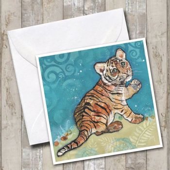 Topaz - Tiger Cub Card