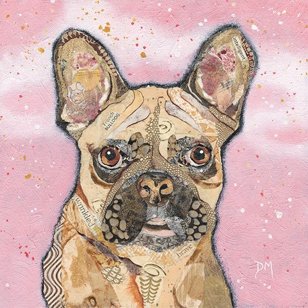 <!-- 063 -->French Bulldog - Small/Med Print
