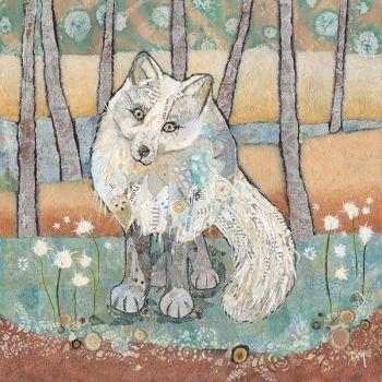 Arctic Fox- Large Print