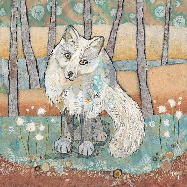 <!-- 001 -->Arctic Fox- Large Print