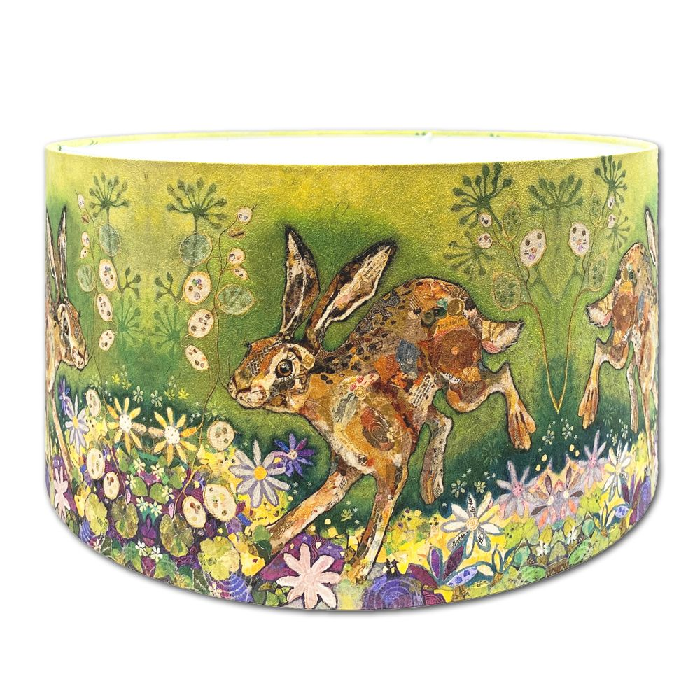<!-- 003 -->Fox  & Hare Lampshades