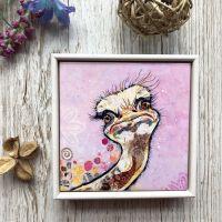 Chick Flick - Mini Ceramic Tile