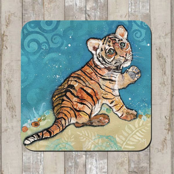 Tiger Cub Coaster Tablemat Placemat