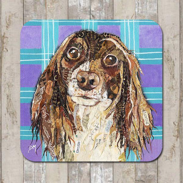 Springer Spaniel Dog Coaster Tablemat Placemat