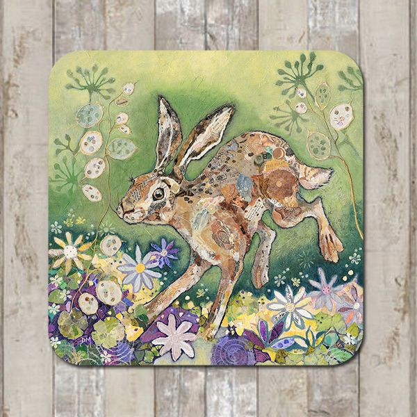 Honesty Hare Coaster Tablemat Placemat