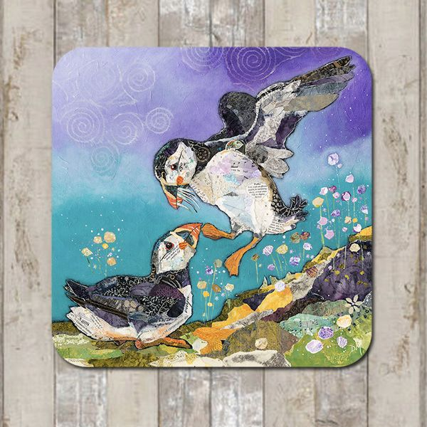 Puffin Coaster Tablemat  Placemat