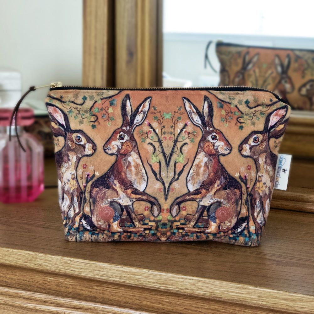 Hare's Looking at You Make-up Bag