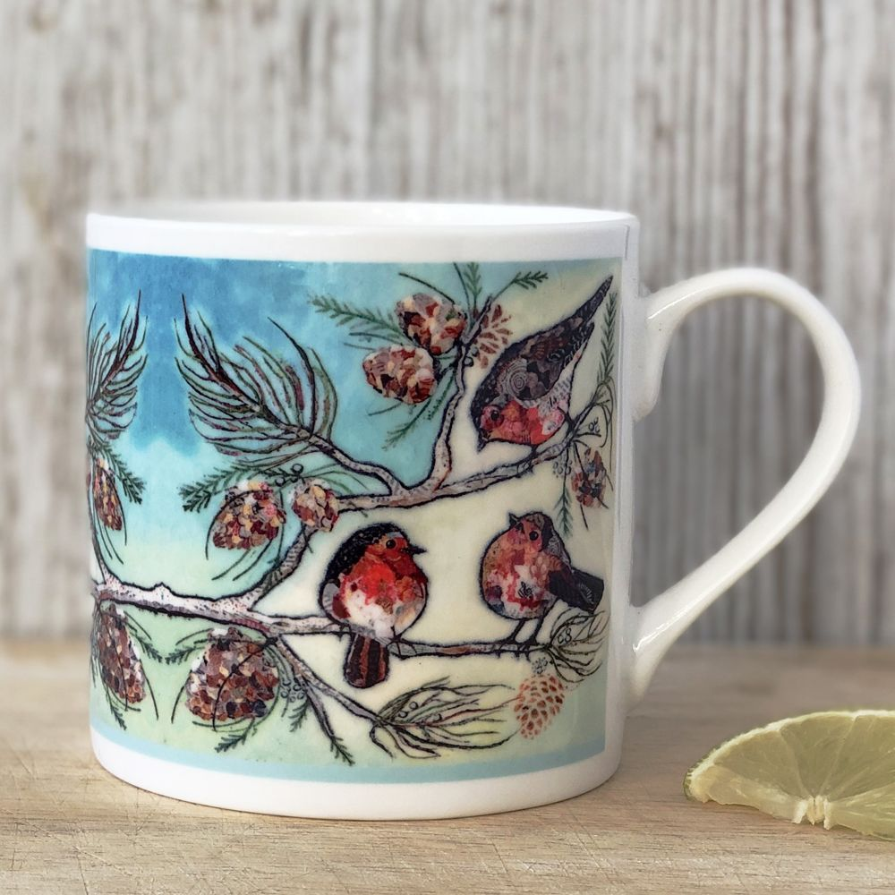 When Robins Appear Mug (SECONDS)