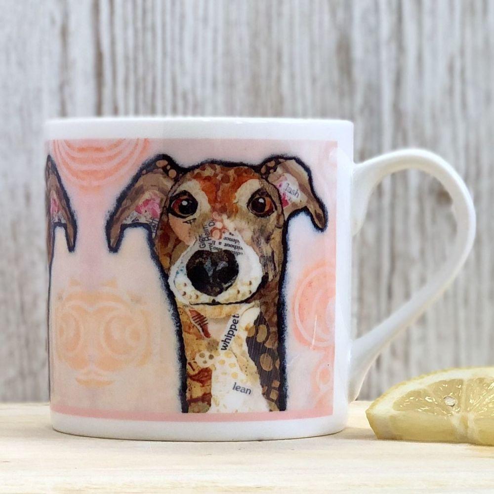 Flash Whippet Hound Mug