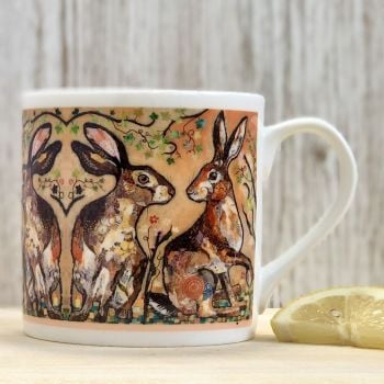 Hare's Looking at You Mug
