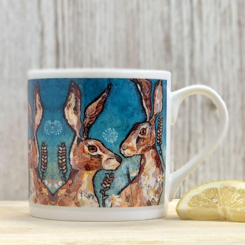 Together Hare Mug - Fine Bone China