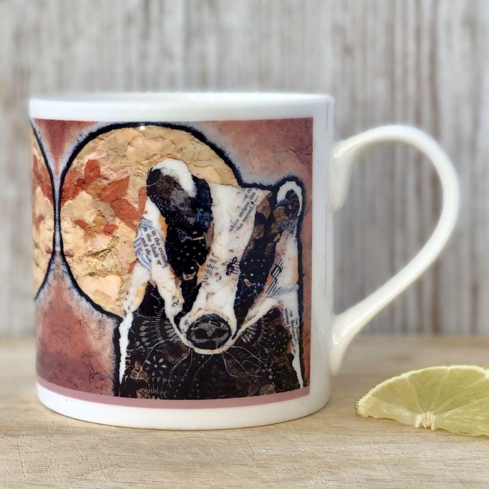 Badger & Moon Mug Fine Bone China