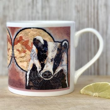 Badger & Moon Mug
