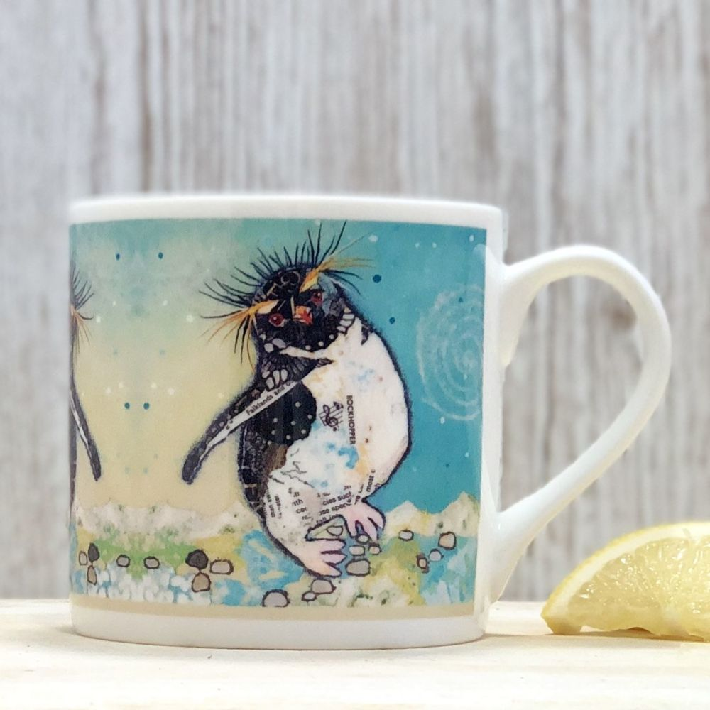 Rockhopper Penguin Mug - Fine Bone China