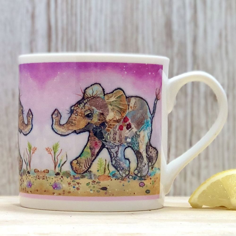 Baby Elephant Mug - Fine Bone China