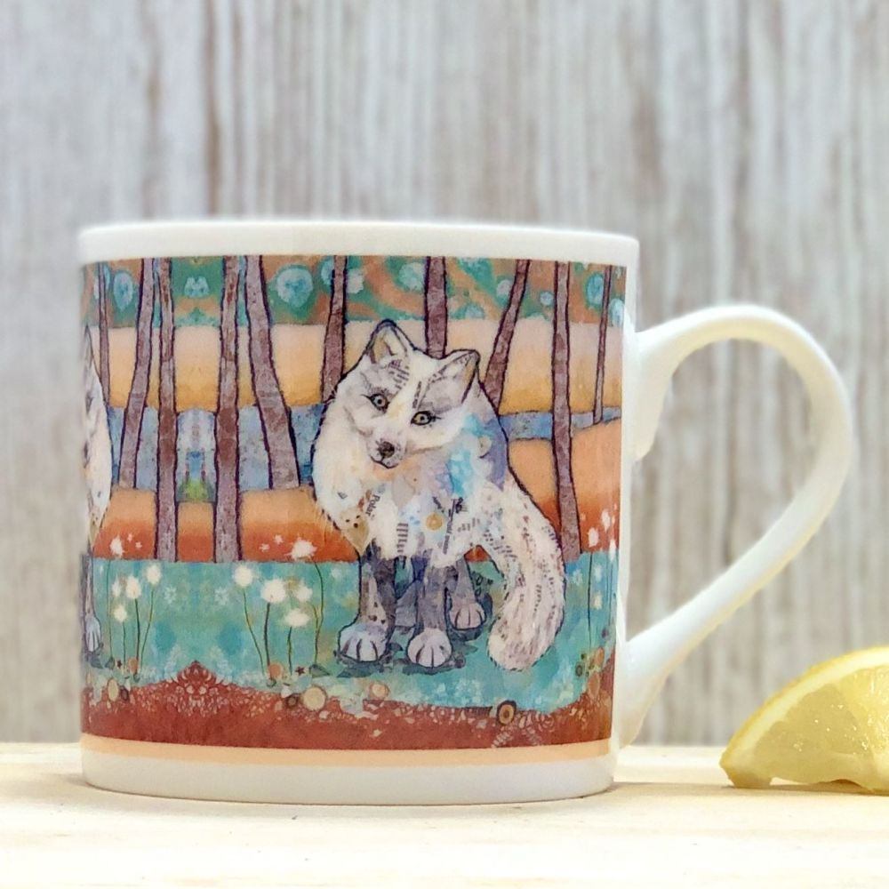 Arctic Fox Mug - Fine Bone China