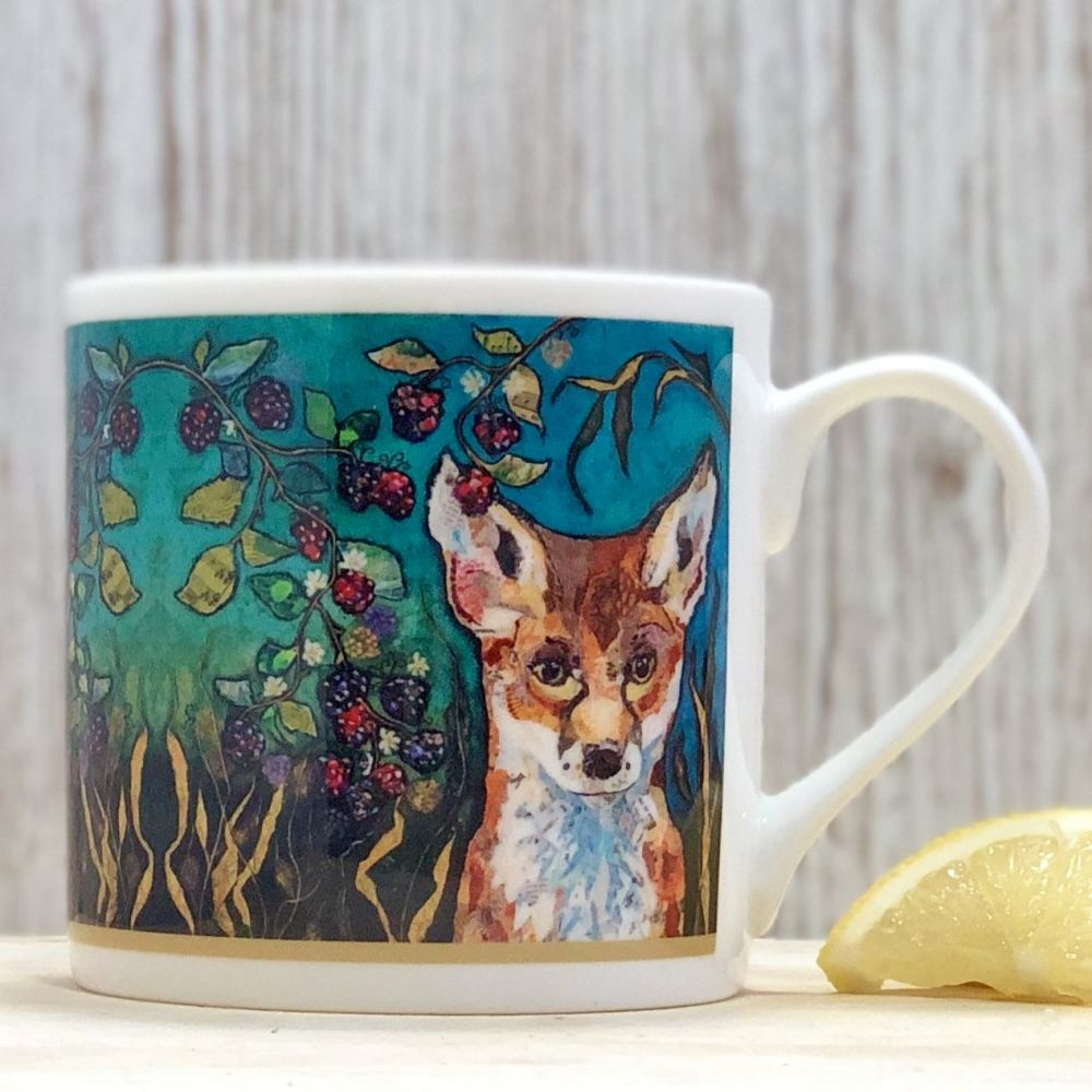 Fox in Brambles Fine Bone China Mug
