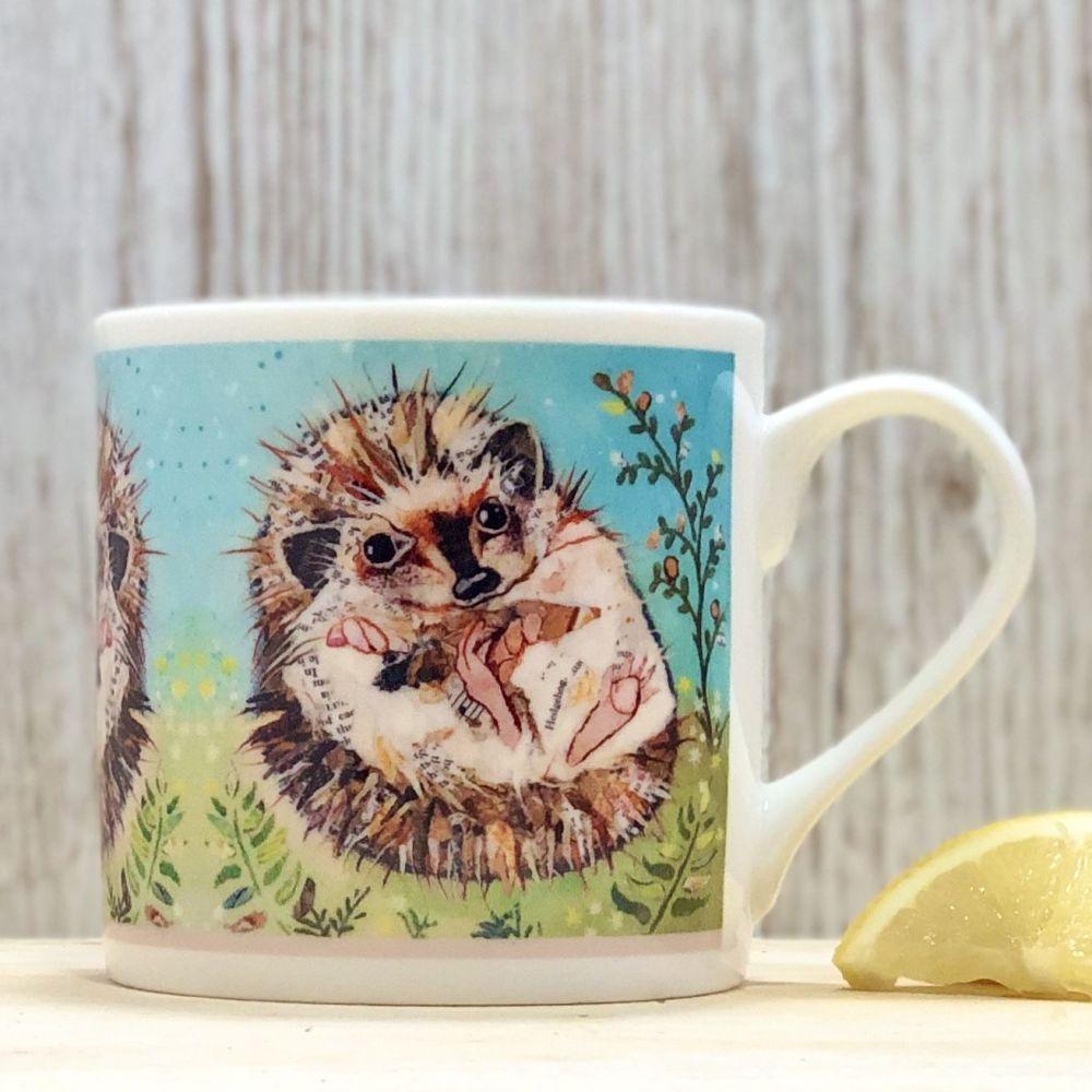 Hedgehog Mug Fine Bone China
