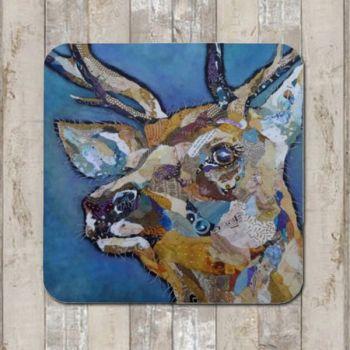 `Red Deer Buck II Tablemat (SECONDS)