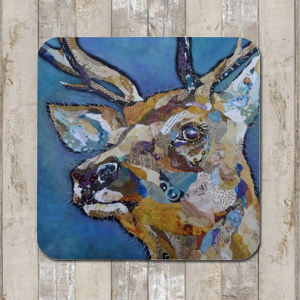 <!-- 002 -->`Red Deer Buck II Tablemat (SECONDS)
