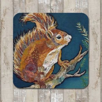 Wee Red Squirrel Tablemat (SECONDS)