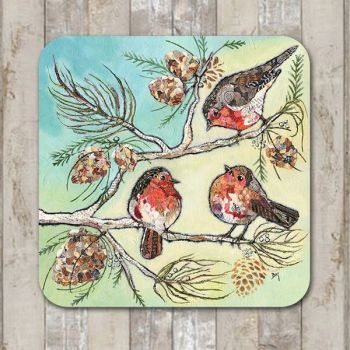 When Robins Appear Tablemat (SECONDS)