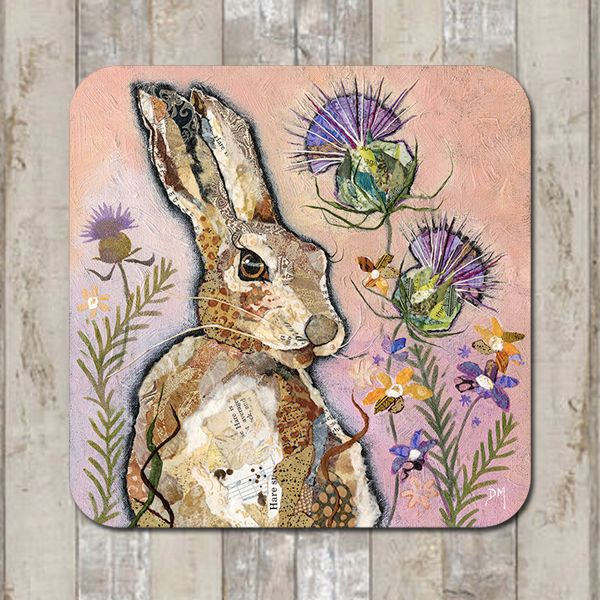 <!-- 002 -->Hare & Thistle Tablemat (SECONDS)