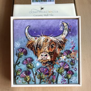 """Thistle Coo 6"""" Tile (SECONDS)"""