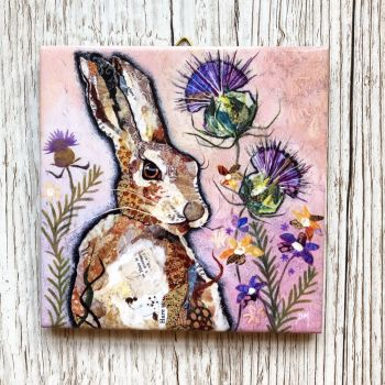 "Hare & Thistle 4"" Boxed Tile (SECONDS)"