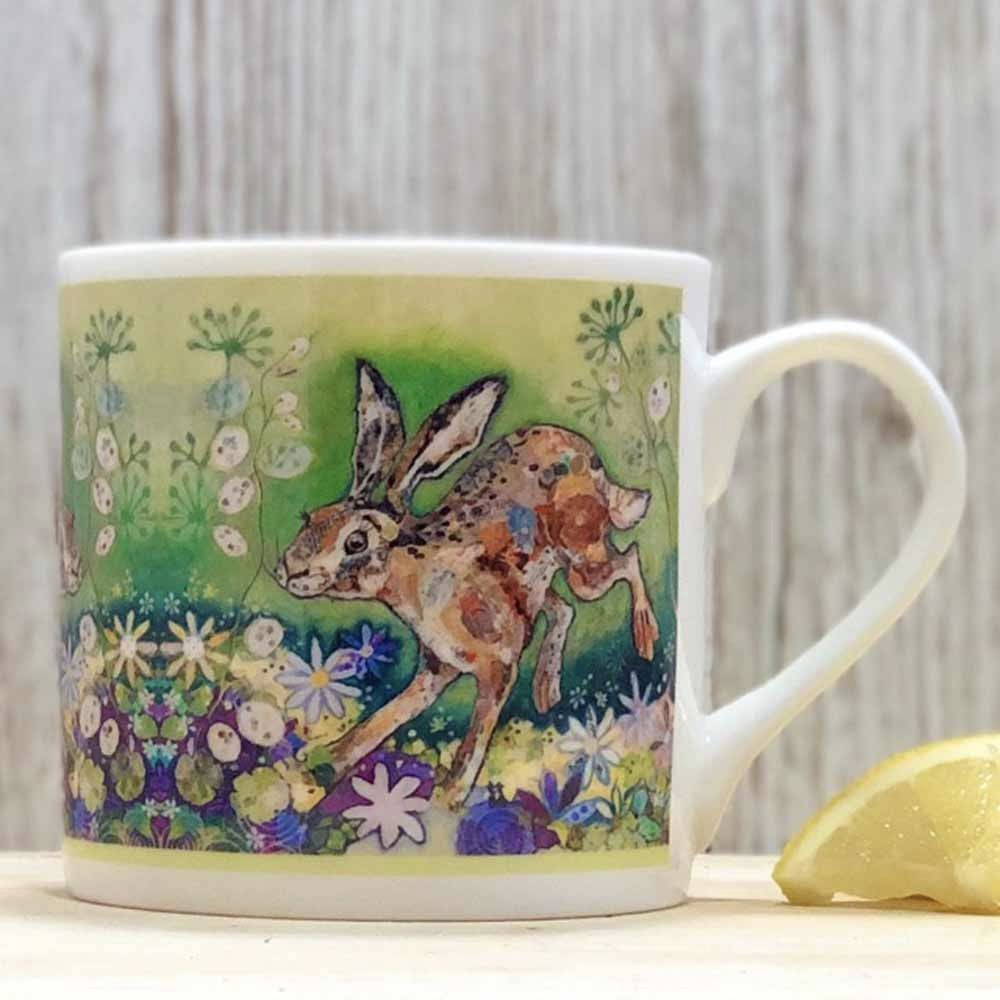 Hare Fine Bone China Mug by Dawn Maciocia