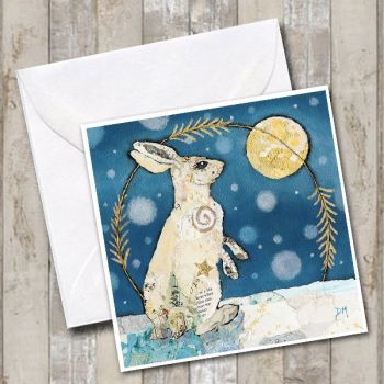 Luna Mountain Hare Card