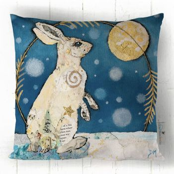 Luna Mountain Hare - Cushion