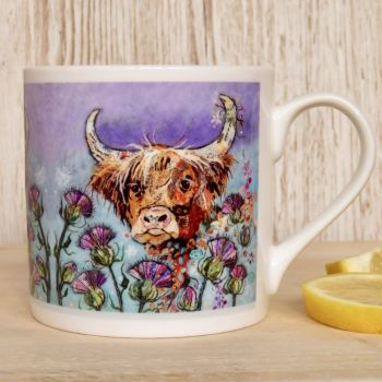 Thistle Coo Mug - B Grade (SECONDS)