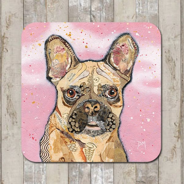 <!-- 002 -->  French Bulldog Tablemat (SECONDS)