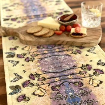 Flutterbies Table Runner