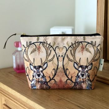 Golden Monarch Make-up Bag