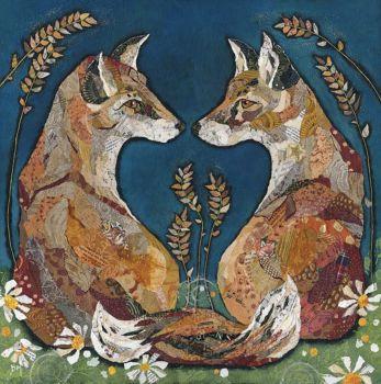 """Ltd Editon Foxheart 20"""" Print (was £115)"""