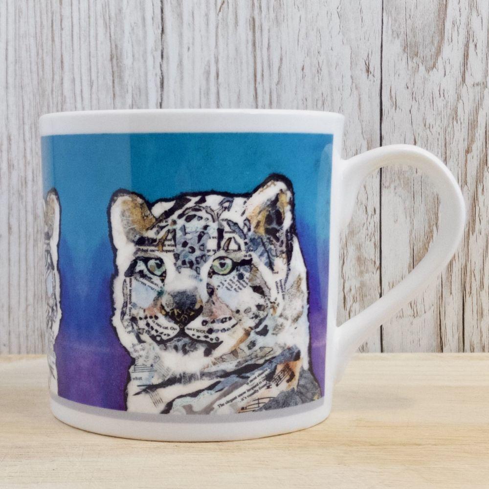 Snow Leopard Mug (B Grade SECONDS)