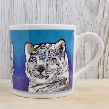 Snow Leopard Mug - B Grade (SECONDS)