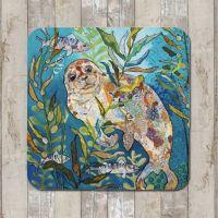 Deep Blue Seal Tablemat (SECONDS)