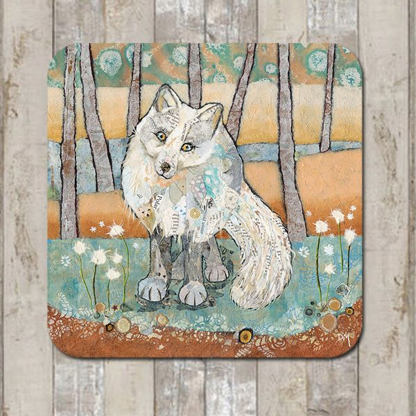 Arctic Fox Coaster Tablemat Placemat