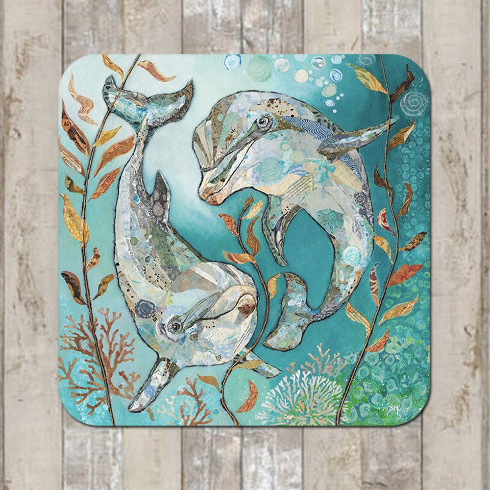 Dolphin Coaster Tablemat Placemat