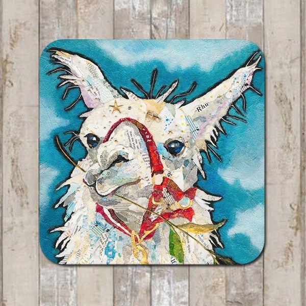 Llama Rhu Coaster Tablemat Placemat