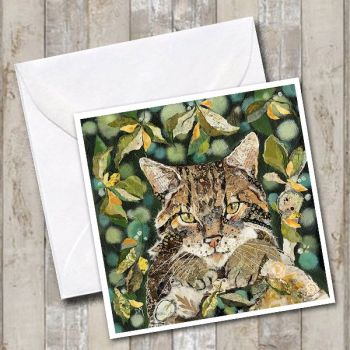 Scottish Wildcat Card