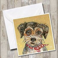 Border Terrier - Dog Card