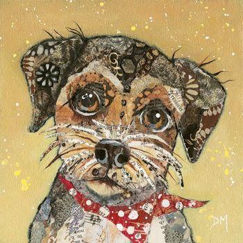 Border Terrier - Dog Wall Art Print