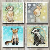 Winter Woodland Card Collection